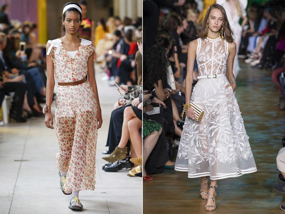 Модные тенденции платьев 2019-2020 года: красивые платья новинки, фото, лучшие образы