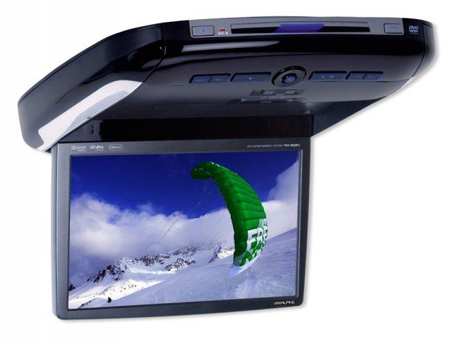 Телевизор на крышу автомобиля