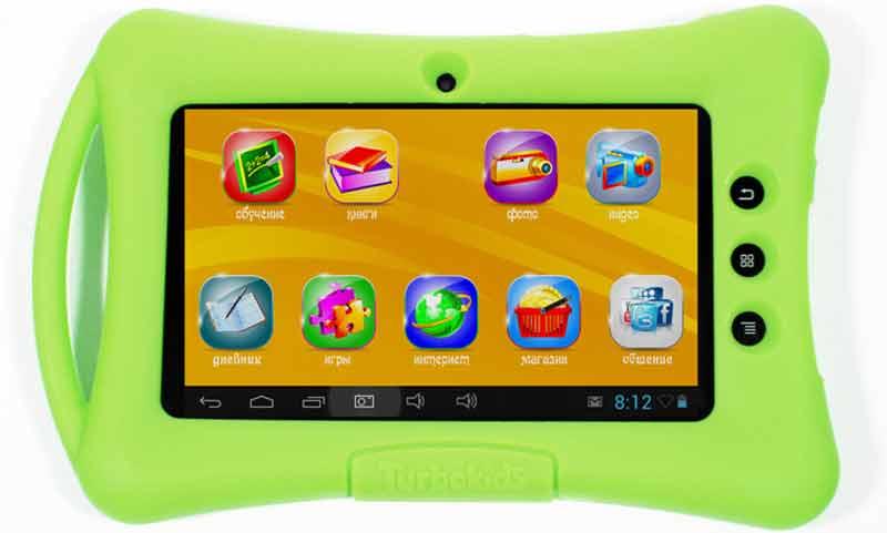 TurboKids-2 Рейтинг ТОП 7 лучших детских планшетов: какой выбрать, характеристики, отзывы, цена%obz