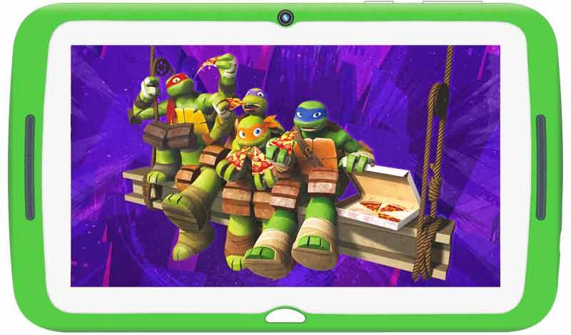 TurboKids-CHerepashki-nindzya-Wi-Fi-16Gb Рейтинг ТОП 7 лучших детских планшетов: какой выбрать, характеристики, отзывы, цена%obz