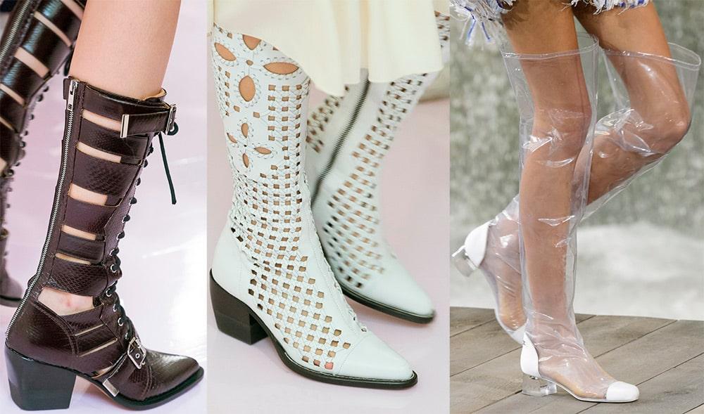 Модные женские сапоги весна 2019 года. Фото, новинки