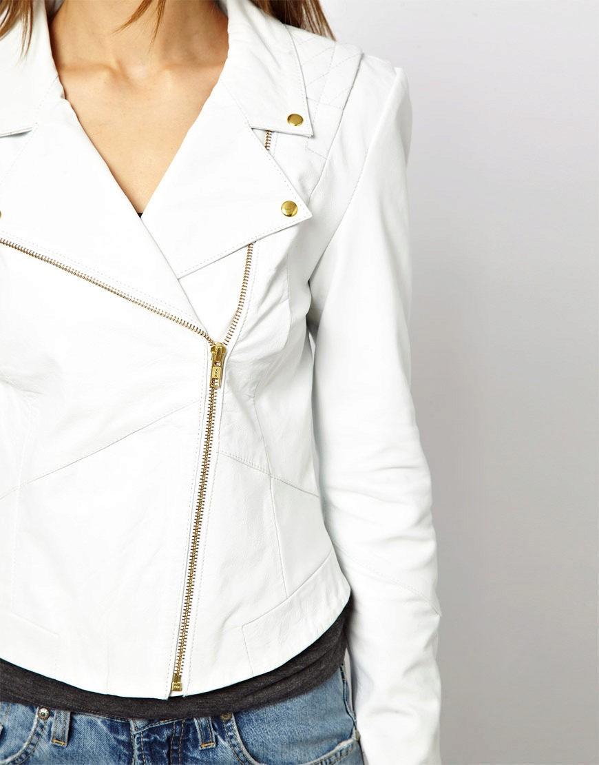 kozhanye-kurtki-2 Модные женские куртки на сезоны осень, зима, весна 2018 - 2019! Тенденции, новинки, 115 фото%obz